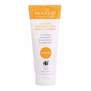 MOOGOO Soothing MSM Moisturiser 200g