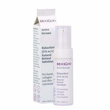 MooGoo Bakuchiol (1% w/v) Natural Retinol Substitute Active Serum 25ml