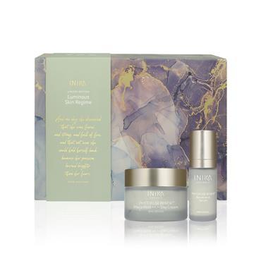 INIKA Organic Luminous Skin Regime Set