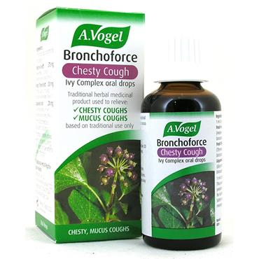 A.Vogel Bronchoforce - Chesty Cough Remedy 50Ml