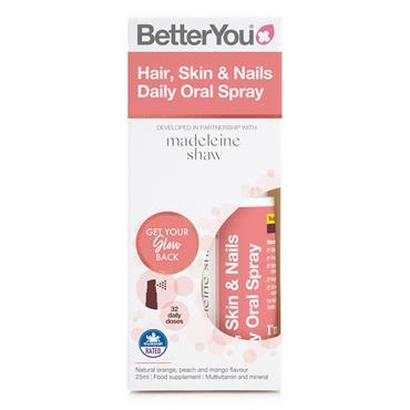 BetterYou Hair, Skin & Nails Daily Oral Spray - 25ml