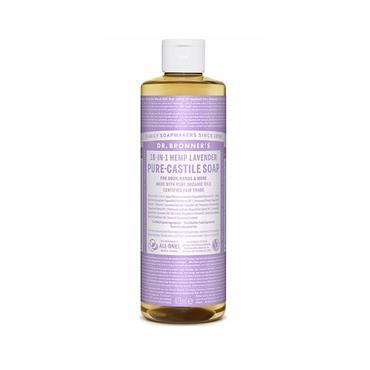 Dr. Bronner's 18-IN-1 Lavender Castile Pure-Castile Soap (475ml)