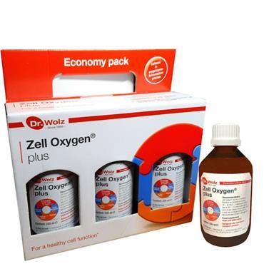 DR WOLZ Zell Oxygen Plus Multi Pack (3X250ml)