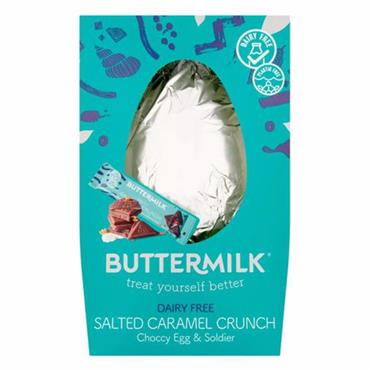 Buttermilk Dairy Free Salted Caramel Crunch Easter Egg 165G