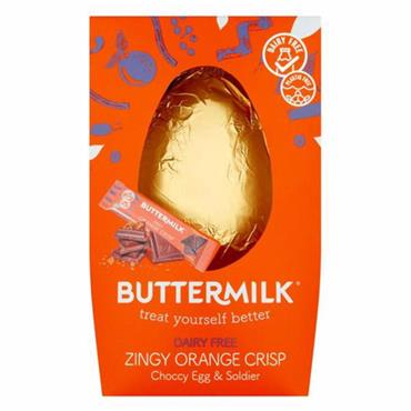 Buttermilk - Zingy Orange Crisp Choocy Easter Egg & Soldier (170g)