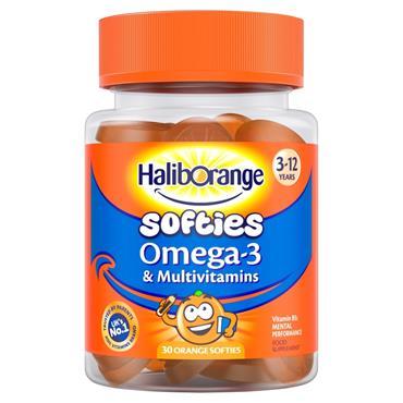 Haliborange Kids Vitamins Omega-3 Orange Softies 30s