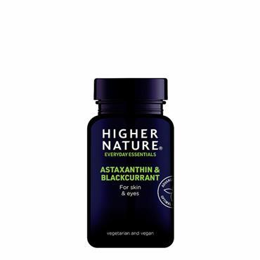 HIGHER NATURE  Astaxanthin & Blackcurrant 30s