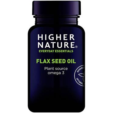 Higher Nature Flaxseed Oil Capsules