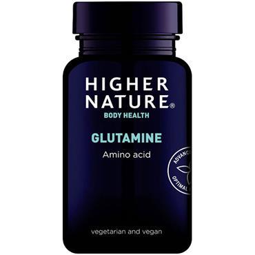 Higher Nature Glutamine Capsules - 90 Caps