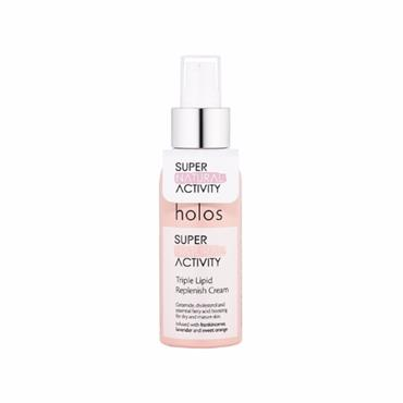 Holos Skincare Super Natural Activity Triple Lipid Replenish Cream 100ml