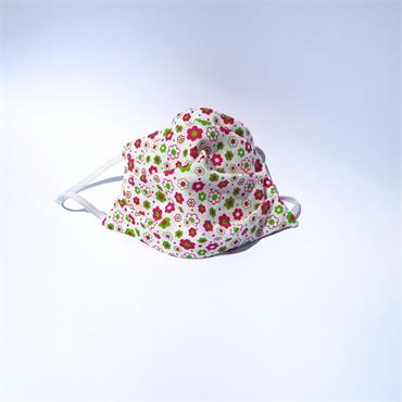 Labrex Children's Reusable Face Mask 100% Cotton Floral