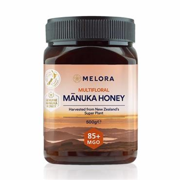 Melora Multifloral Manuka Honey 85+ MGO 375g