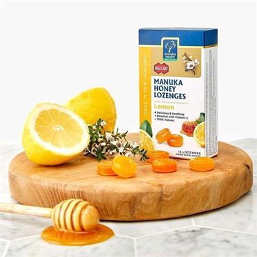 Manuka Health Honey & Lemon Drops 15'S