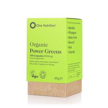 One Nutrition® Premium Power Greens 100Caps