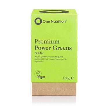 One Nutrition® Premium Power Greens - Powder 100g