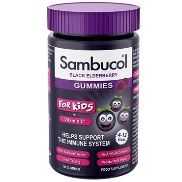 Sambucol Black Elderberry Kids Gummies 30s