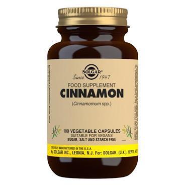 Solgar Cinnamon 500mg Vegetable Capsules - Pack of 100