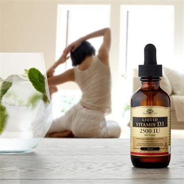 SOLGAR Vitamin D3 2500 IU (62.5µg) Liquid 50ml
