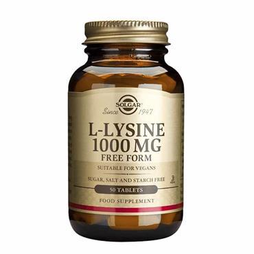 Solgar L-Lysine 1000mg 50s