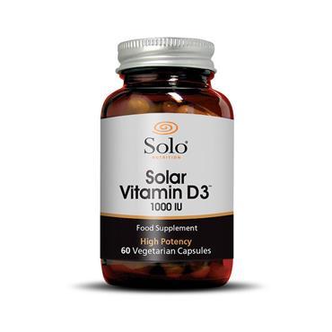 Solo Nutrition Vitamin D3 1000 IU 60s