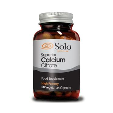 Solo Nutrition Superior Calcium Citrate 60's