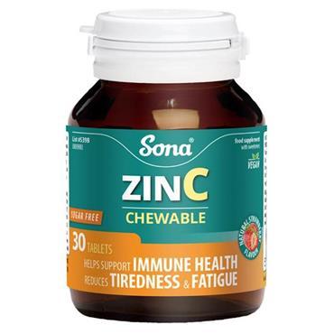 Sona Zinc Chewable 30'S