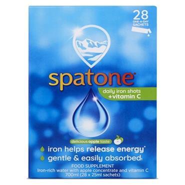 Spatone Apple Daily Iron Shots + Vitamin C 28 Sachets