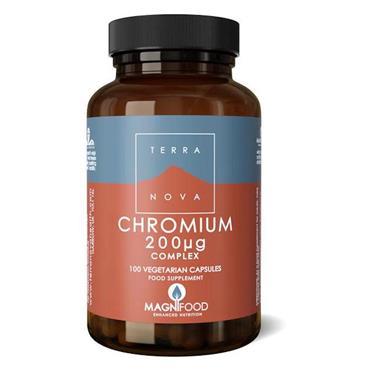 TerraNova Chromium 200ug Complex 100 capsules