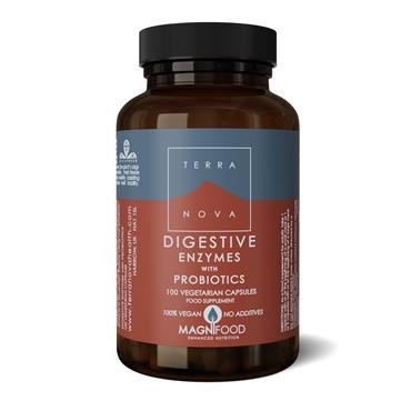 TerraNova Digestive Enzymes with Probiotics Complex