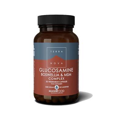 Terranova Glucosamine Boswellia & MSM Complex 100s