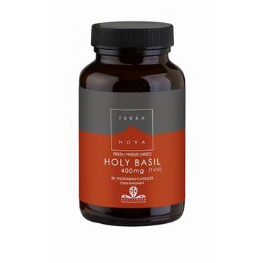 TerraNova Holy Basil - Tulsi (Fresh Freeze Dried) 400mg 50s