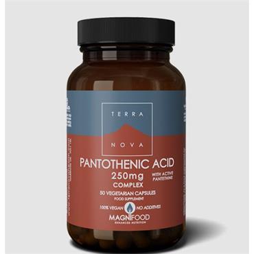 TerraNova Pantothenic Acid (with Pantethine) 250mg 50s