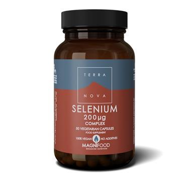 TerraNova Selenium complex 200ug 50s