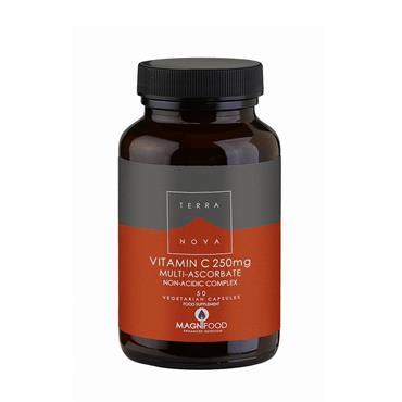 TerraNova Vitamin C 250Mg Multi-Ascorbate Complex