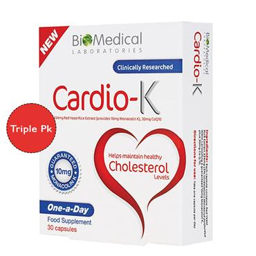 Cardio K Triple Pk 90s