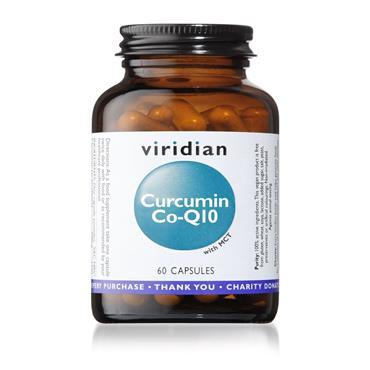 VIRIDIAN Curcumin Co-Q10 Supplement (60 Capsules)