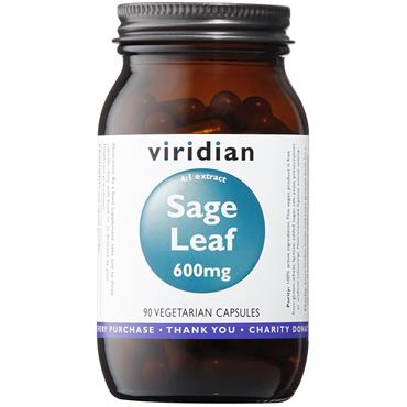Viridian Sage Extract 600mg 90 Caps