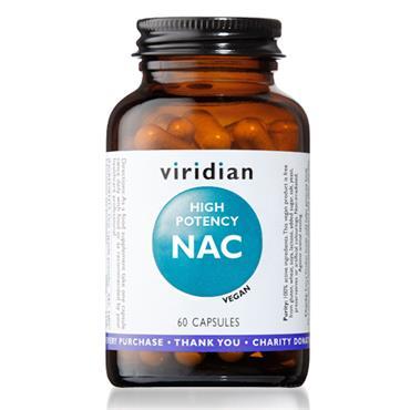 Viridian NAC High Potency 60 Capsules