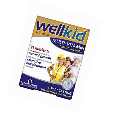 Vitabiotics Wellkids Multi-Vitamin Smart Chewables 30s
