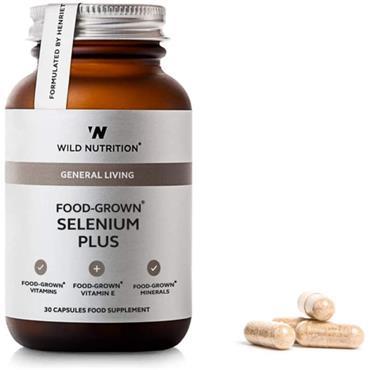 Wild Nutrition Food-Grown Selenium Plus 30s