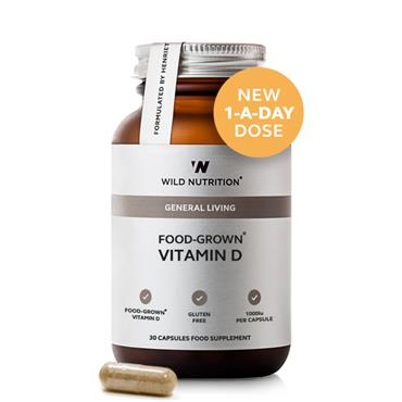 Wild Nutrition Food Grown Vitamin D 30s