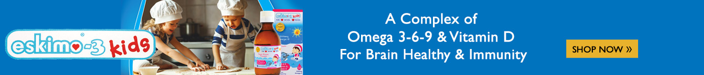 A Complex of Omega 3-6-9 & Vitamin D  For Brain Healthy & Immunity.