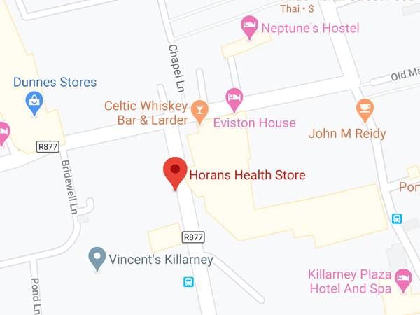 Horan's Health, 9A Beech Road, Monearmore, Killarney, Co. Kerry