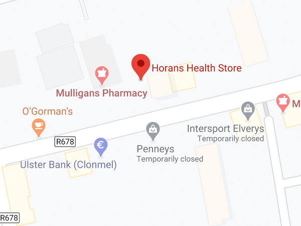 Horan's Health, 71 O'Connell St,  Oldbridge,  Clonmel,  Co. Tipperary,  E91 A006
