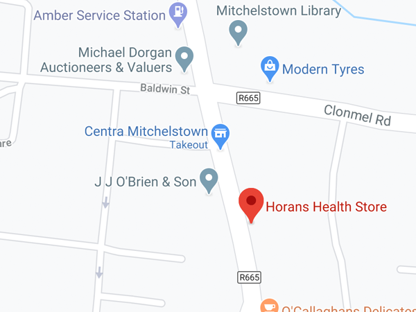Horan's Health, 9 Lower Cork St,  Ballinwillin,  Mitchelstown,  Co. Cork,  P67 HN25