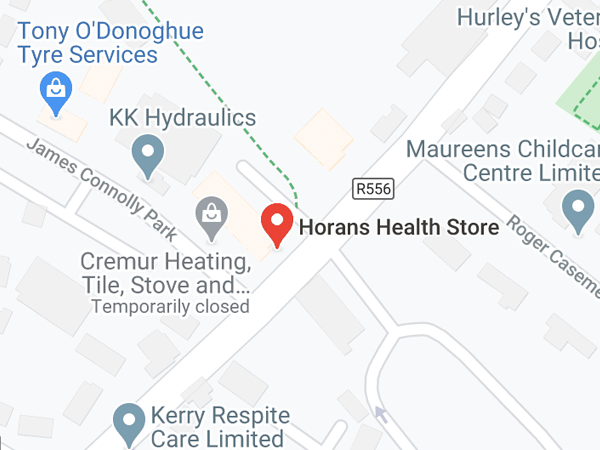 Horans Healthstore 1 Lower Rock St,  Gallowsfields,  Tralee, Co. Kerry