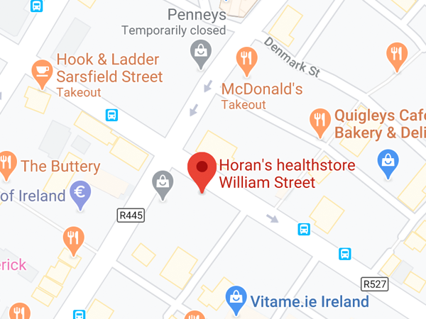 Horan's Health, 73 William St,  Limerick,  V94 X4W7