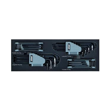 Polar MM and Torx Key Set, 34 Piece