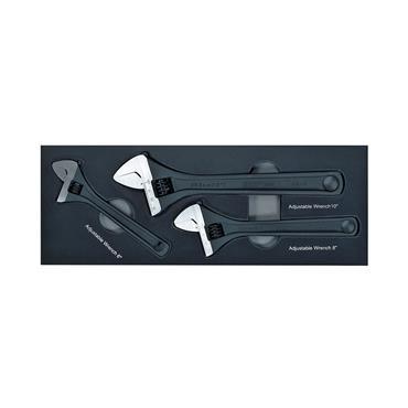 Polar Adjustable Wrench Set, 3 Piece