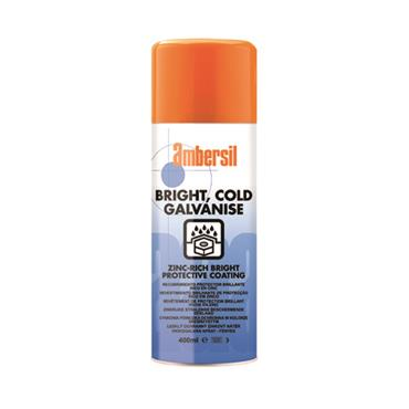 Bright Cold Galvanise Zinc Rich Bright Coating 400ml